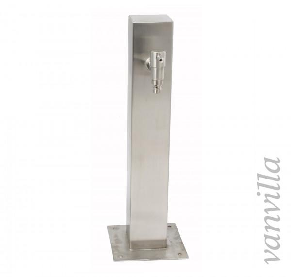 Wasserzapfstelle quadratisch 50cm hoch inkl. 1x Wasserhahn
